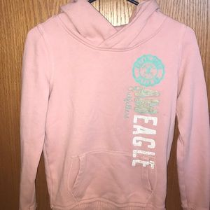 American Eagle vintage looking, mauve sweatshirt